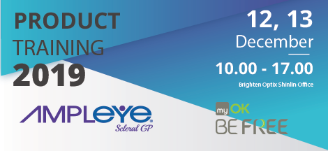 myOK BE FREE & Amplyeyes mini-sclera lens Product Training Event